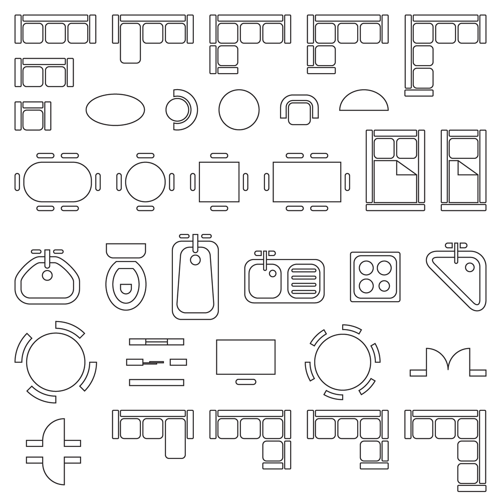 Symbols for architectural drawings, Print Architectural drawings in lagos